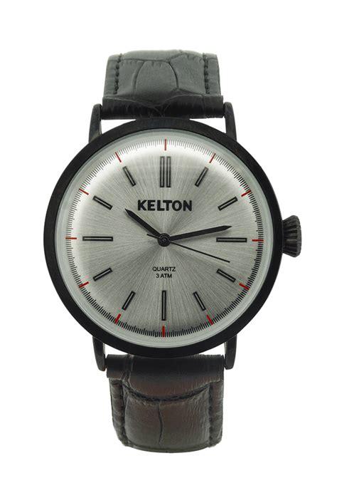 montre kelton metalic black kelton