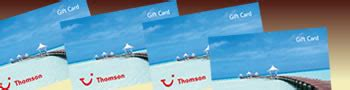 Thomson Gift Card - thomson holidays holiday vouchers
