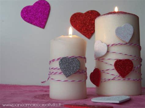 candele per san valentino san valentino le candele romantiche per la tavola