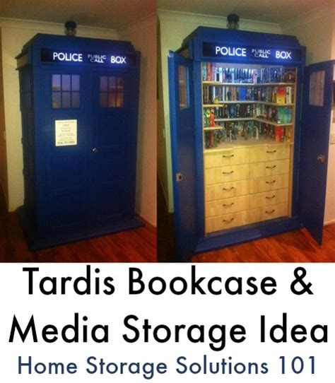 home storage solutions 101 tardis dvd storage ideas for doctor who fans