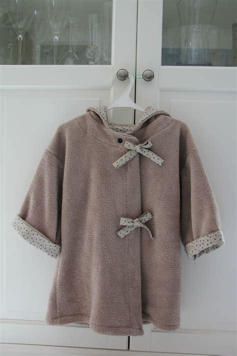 robe de chambre pour enfant comment coudre une robe de chambre
