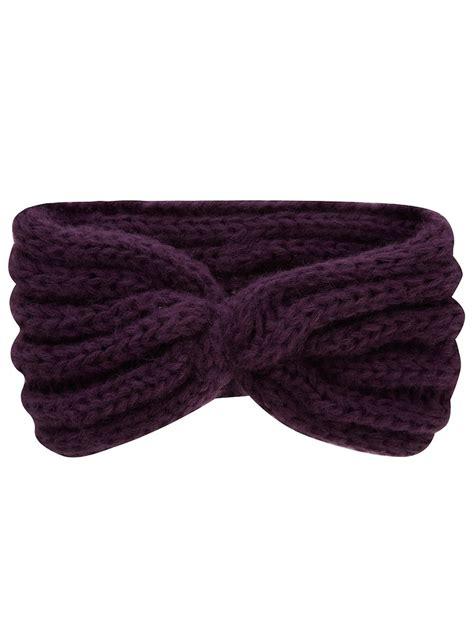 twist headband knitting pattern twisted knit headband knit twists