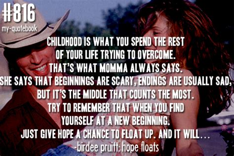 movie quotes on hope living with cancer a message of hope 1998 tv tv