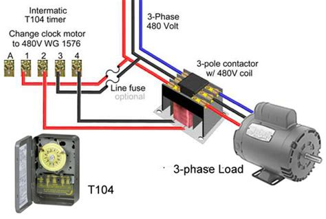 120 volt 4 pole contactor wiring diagrams wiring diagram