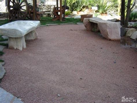 decomposed granite patio for the home