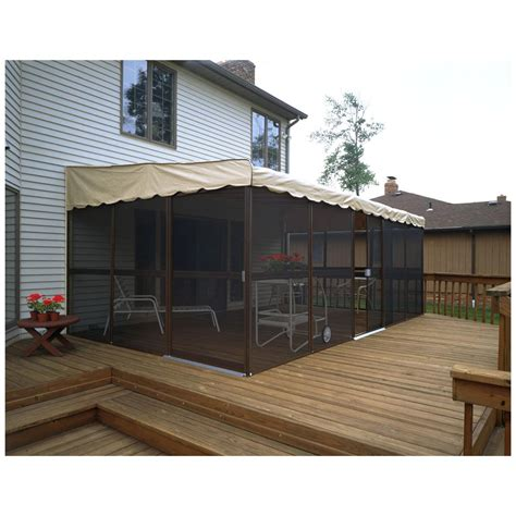 home products 11 panel 45 quot patio mate screened