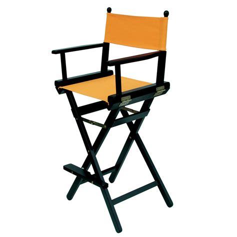 sgabello alto pieghevole sedia regista alta