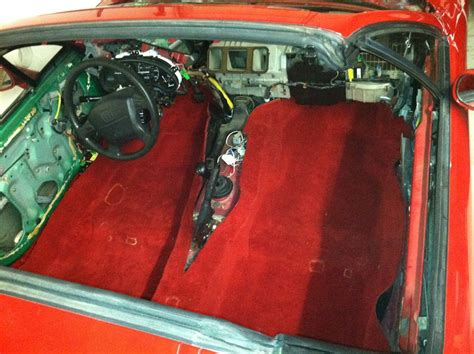 Honda Sol Carpet madcoder sol build thread no 56k if they even