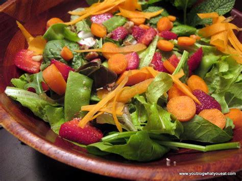 Garden Salad Summer Garden Salad You What You Eat