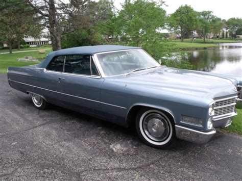 1966 cadillac coupe convertible for photos