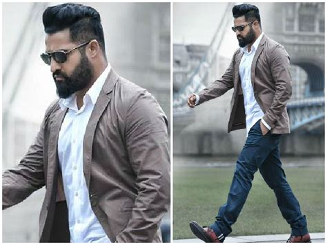 beard look of ntr in movie my family jr ntr will be seen playing dual roles in nannaku