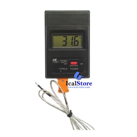 Termometer Oven Digital termometer digital lutron tm 902c ical store ical store