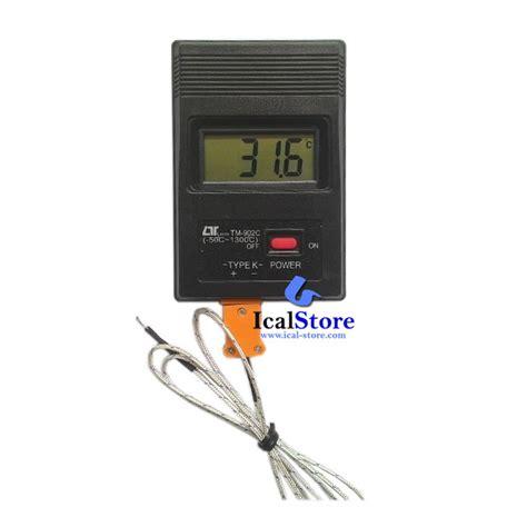 Termometer Untuk Mengukur Air termometer digital lutron tm 902c ical store ical store