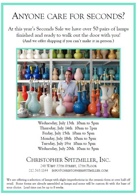 sale update christopher spitzmiller the chicist the peak of chic 174 christopher spitzmiller seconds sale