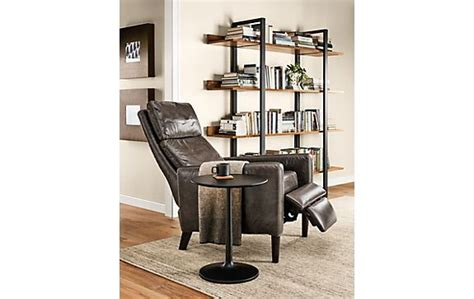 room and board recliner wynton leather recliner modern living room furniture room board