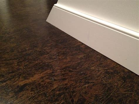 Stained Plywood Floor by Finish Plywood Subfloor Make Dollhouse Roof Shingles