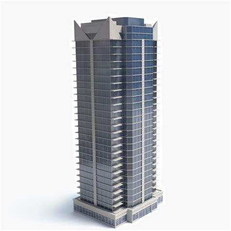 3d house building 3d model skyscraper building
