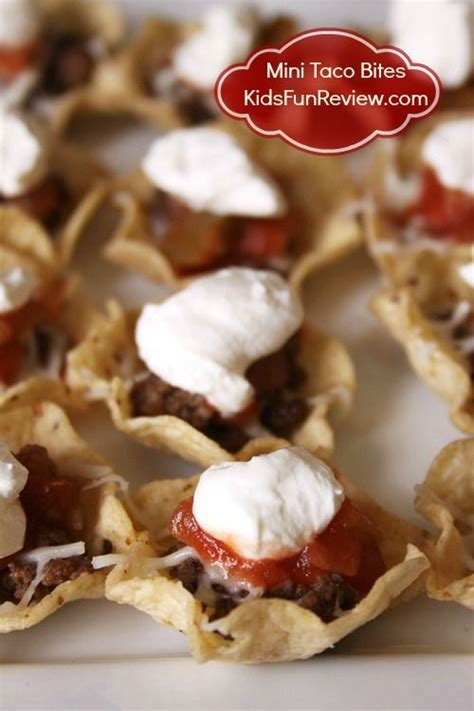 kid friendly summer appetizers kid friendly mini taco bites appetizer recipe tacos appetizer recipes and appetizers