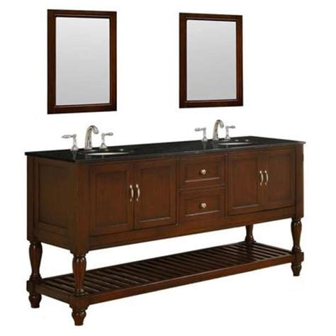 best deal direct vanity mission turnleg 70 quot brown