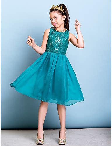 junior bridesmaid dresses color jade lanting bride 174 knee length chiffon sequined junior