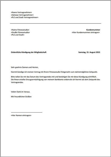 Vorlage Angebot Per Email Mcfit K 252 Ndigung Vorlage Per Email K 252 Ndigung Vorlage