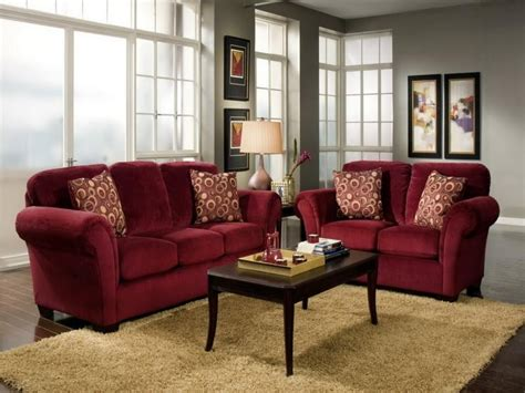living room with red sofa amazing living room decorating ideas with red velvet sofa