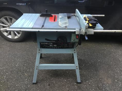 Used Delta Table Saw by Delta Table Saw Xl 10 36 380 City
