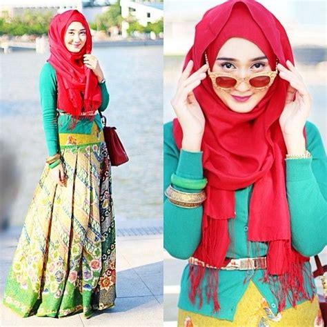 Baju Muslim Dress Gamis Khimar Syari Lazer 6 Syari dian tjandrawinata tjandrawinata pelangi batik hokokai as a skirt in a singapore