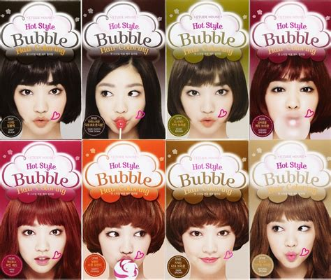 Etude Hair Colour etude house style hair coloring shoo in
