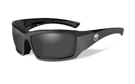 harley davidson wiley x sunglasses silver flash