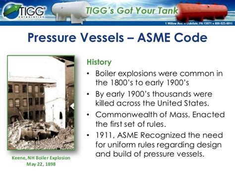asme code section vii manufacturing pressure vessels to asme code