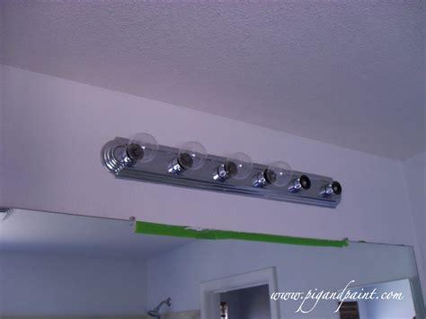 replacing bathroom light fixture replacing bathroom vanity light fixture how to replace a