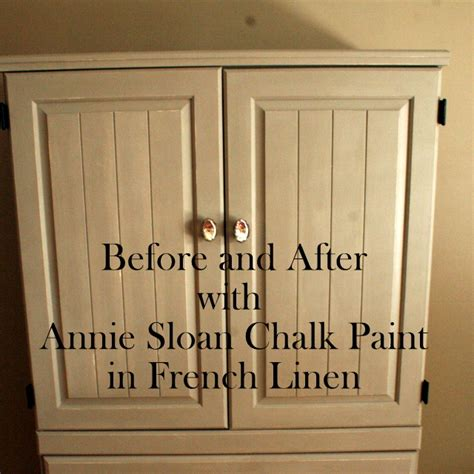 Painted Kitchen Cabinets Ideas Colors by Before Amp After Annie Sloan Chalk Paint French Linen Hope Is The Word