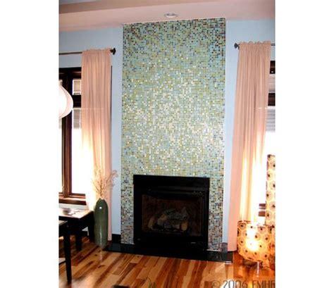 Dalia Kitchen Design Mosaic Tile Fireplace Surround