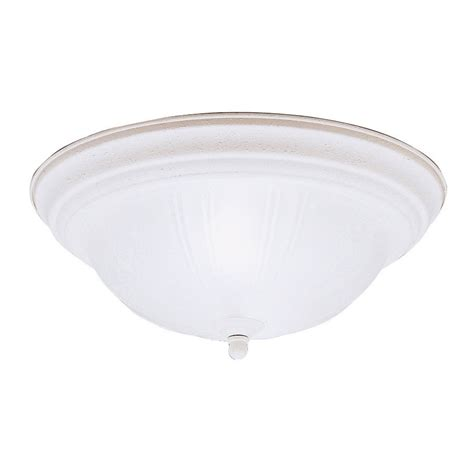 Shop Kichler 13 25 In W Brushed Nickel Flush Mount Light At Lowes Shop Kichler 13 25 In W Stucco White Flush Mount Light At Lowes