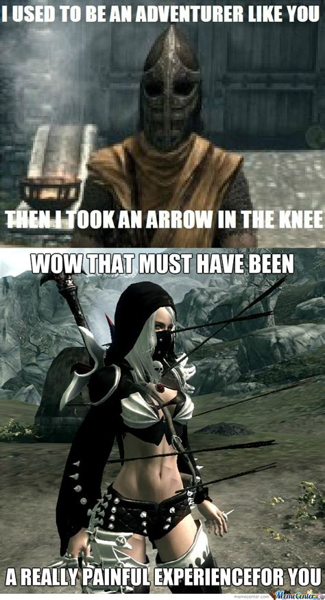 Skyrim Memes And Jokes - dat skyrim joke by nutso9999 meme center