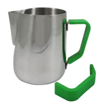 Handle Green Coffee rattleware 20 oz handle free latte pitcher