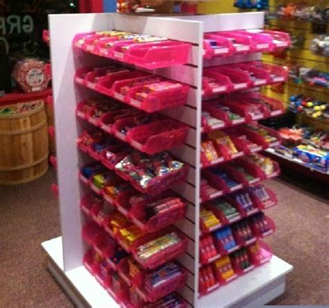 slatwall candy racks retail fixtures creative store