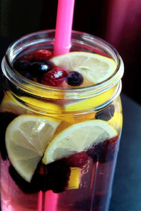 Berry Detox Water by Top 50 Detox Water Recipes For Rapid Weight Loss For 2018