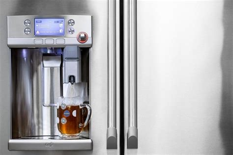 GE Café Refrigerator with Keurig K Cup Brewing System