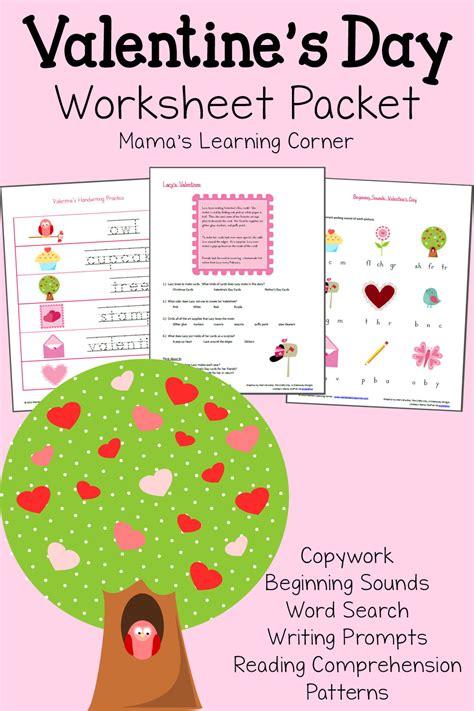s day for kindergarten s day worksheet packet mamas learning corner