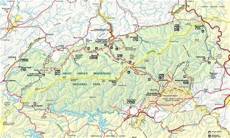 gsmnp trail map my ultralight gear list stick s