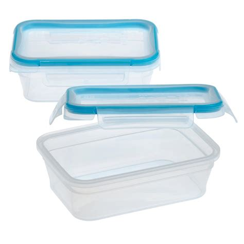 snapware containers snapware total solution plastic food storage 3 cup 2 pack 1111578 the home depot