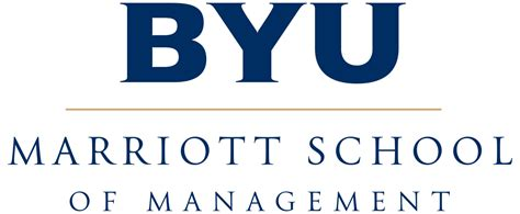 Byu Mba by File Byu Marriott School Of Management Logo Svg