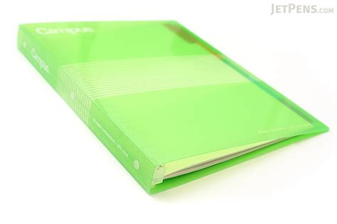 Binder 26ring Zebra Bludru Kokuyo Cus Slide Binder B5 26 Rings Green