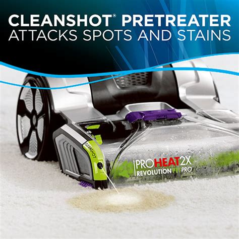 bissell proheat  revolution pet pro  carpet cleaners