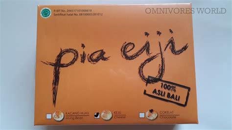 Pia Tata Rasa Coklat Keju Kacang Hijau Kacang Merah Durian Isi 10 pia eiji 100 original made in bali cemilan khas bali