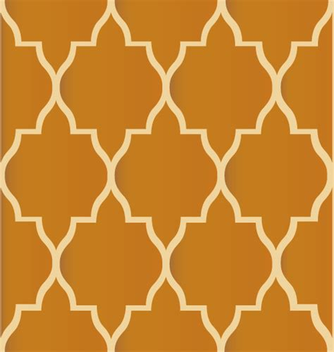 moroccan tile wall covering damask stencil in a unique and