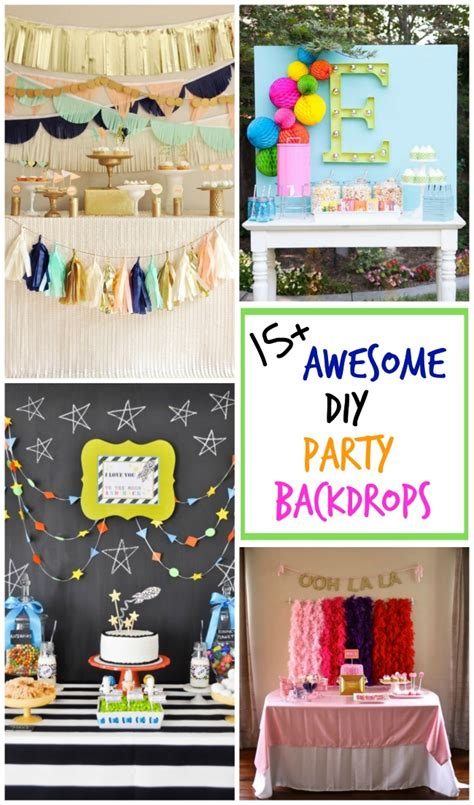 Michaels Fall Decor 15 Awesome Diy Party Backdrops Design Dazzle