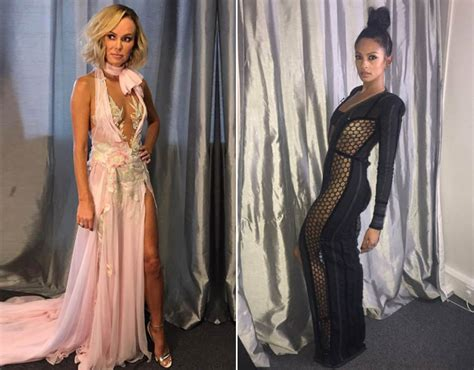 Dress Amanda amanda holden and alesha dixon bgt dresses amanda holden